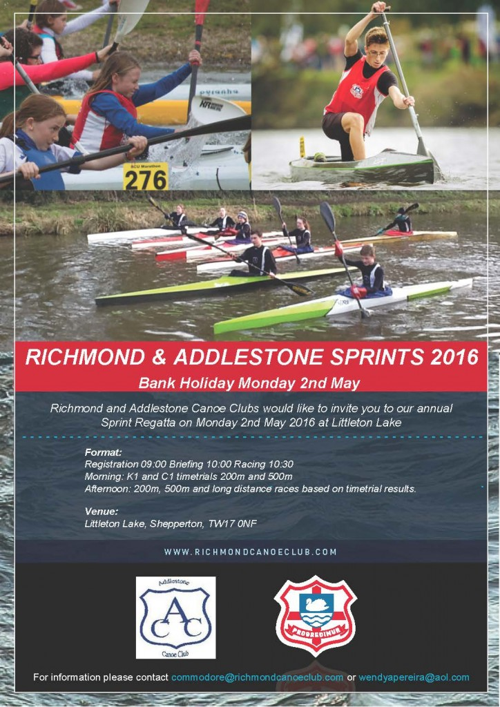 2016 Richmond & Addlestone Sprints